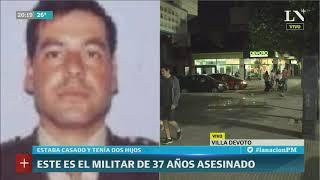 Crimen en una financiera: mataron a un militar - LN+ PM