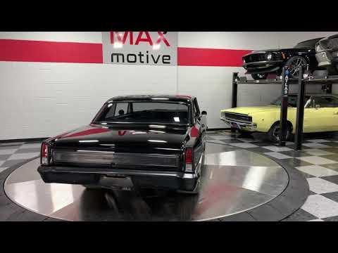 1966 Chevrolet Nova Pro Touring For Sale At MAXmotive - U0523