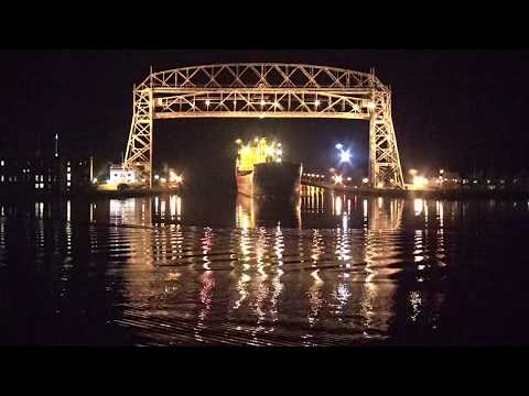 Federal Weser arrived Duluth 04/12/2018 - First Saltie
