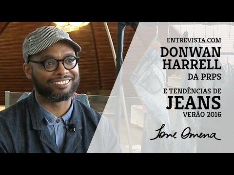 Entrevista Donwan Harrell da PRPS e tendências de jeans para o verão 2016