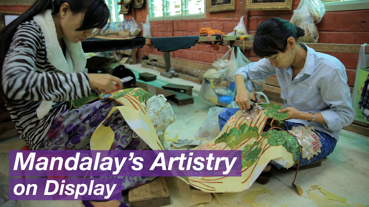 Mandalay A Home To Handicrafts Youtube