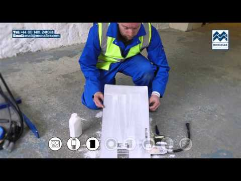 Monaflex Tutorial – Truck Tyre Repair (Wide Base and Super Single)