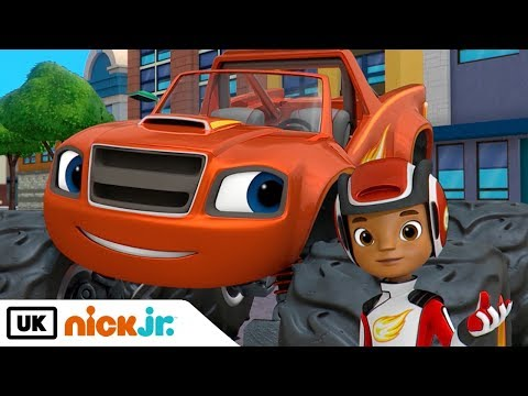 Blaze and the Monster Machines | The Super-Size Prize | Nick Jr. UK