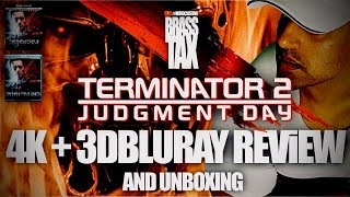 Terminator 2 4K + 3D Bluray Review and Unboxing