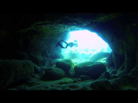 The Underwater Caves of Kona, Hawaii