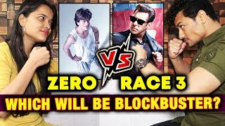 ZERO Vs RACE 3 | Which Film Will Be BLOCKBUSTER | Rahul And Jyoti FIGHTS