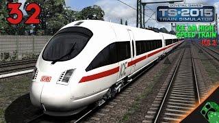 Train Simulator 2015 - ICE 3M High Speed Train - ICE 3 | Gameplay Español