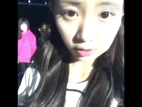 SNH48 Kiku (鞠婧祎) - Wang Lu's Rehearsal Miaopai