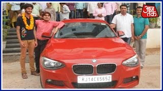 Director Of Coaching Institute Gifts BMW To Student Who Cleared IIT JEE