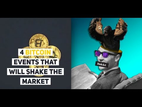 4 Bitcoin Events That Will Shake the Market