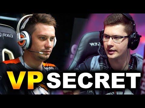 SECRET vs VP - SEMI-FINAL 5 MELEE STRAT - CHONGQING MAJOR DOTA 2