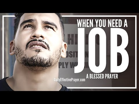 Prayer For Job Opportunity – Prayer For a Job Offer