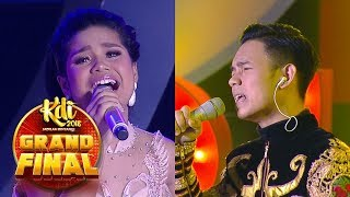 DANGDUT BATTLE!! Delima [GERIMIS MELANDA HATI] VS Abi [MAHAL] - Grand Final KDI (2/10)