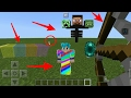 5 mejores trucos sin mods para minecraft pe 1.1.0.9 || trucos mcpe 1.1.0.9 android
