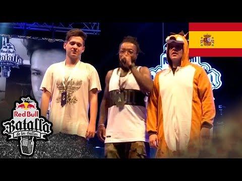 Arkano vs Baron - Final - Mallorca - Red Bull Batalla de los Gallos 2015 (Oficial)