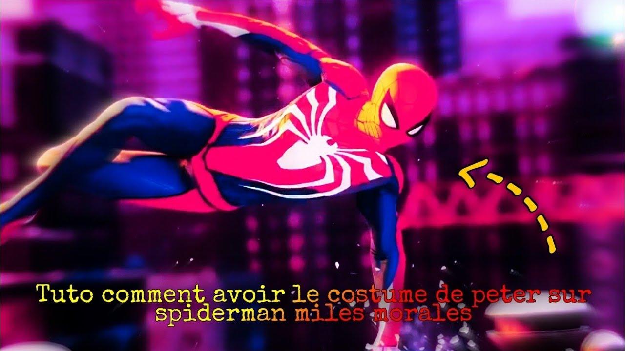 Download Tuto comment avoir le costume de peter parker sur spider man miles morales (GLITCH)
