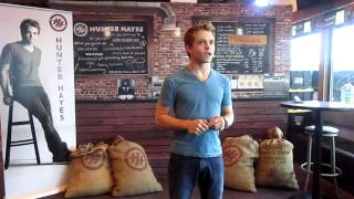 Hunter Hayes - Coffee House Experience - 6/1/12 (Part 1)