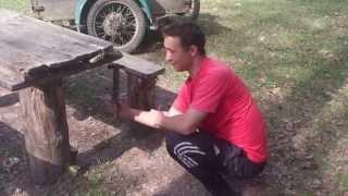 Урок выживания в лесу)))