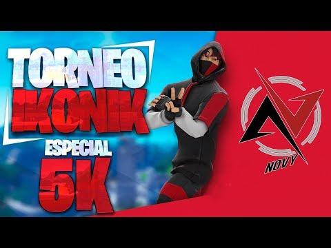 ESPECIAL 5K 🔴 TORNEO IKONIK *PARTIDAS PRIVADAS*  / *FORTNITE CHILE* / GRACIAS x LOS 5K ♥️