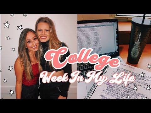 College Week In My Life Loyola Chicago | Classes, Going Out, Brunch