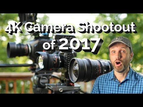 Best 4K Video Camera Shootout of 2017