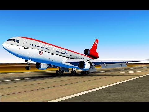 Infinite Flight GLOBAL Indianapolis KIND - Memphis KMEM McDonnell Douglas DC-10