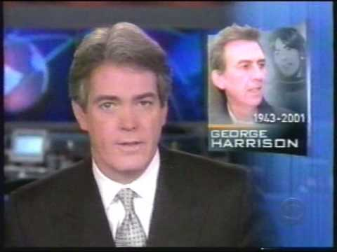 CBS Evening News - on the Death of George Harrison, Nov. 2001