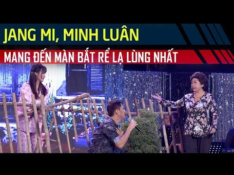 Jang Mi - Minh Luân khuấy động sân khấu với màn 'bắt rể' lạ lùng | Cặp Đôi Vàng Tập 6
