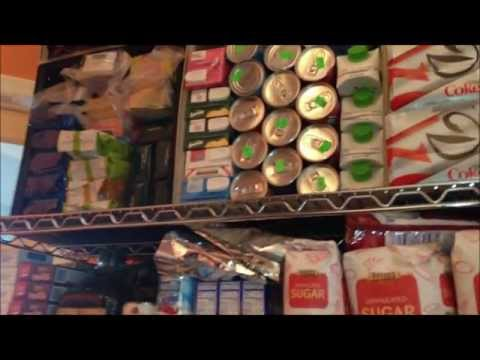 Prepper Food Storage Organization - Maximizing and Stabilizing my Storage Space (Before and After)