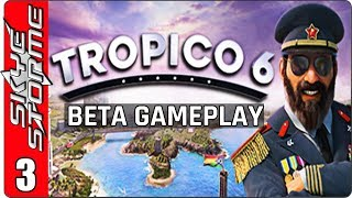 TROPICO 6 BETA GAMEPLAY ◀Penultimo of the Caribbean Mission - Part 1▶(New Tycoon Strategy Game 2018)
