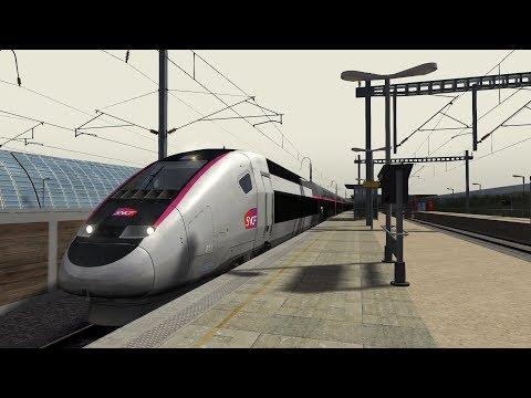 Train Simulator 2018: Marseille to Avignon TGV   Avignon-Marseille   TGV Carmillon Duplex HD