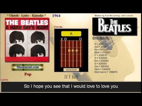 The Beatles - If I fell #0156 - YouTube
