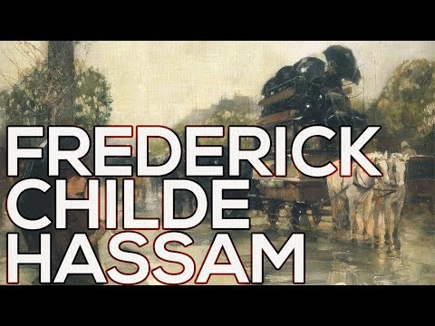 Frederick Childe Hassam: A collection of 645 paintings (HD)