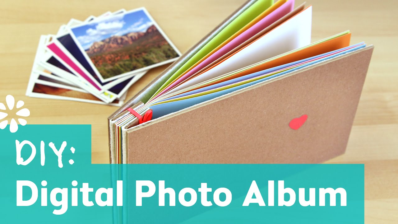 making a photo album