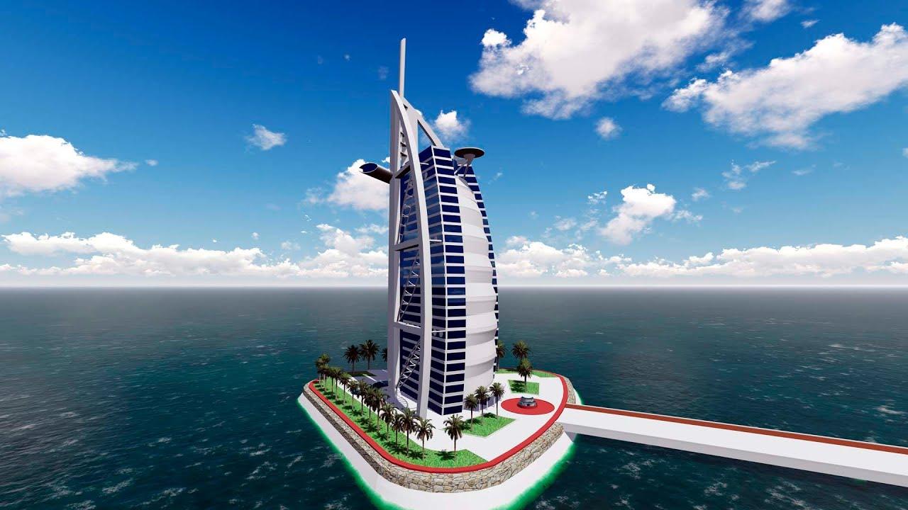 Sketchup Burj Al Arab Youtube