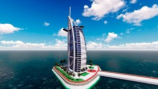 Sketchup Burj Al Arab