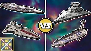STAR WARS VERSUS: VENATOR + HOME ONE VS. PROVIDENCE + STERNENZERSTÖRER - SWB Versus #46