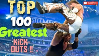 WWE Top 100 Greatest Kickouts Ever |