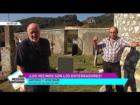 En  Salinas de Oro los vecinos son los enterradores