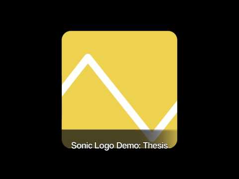Sonic Logo: Thesis