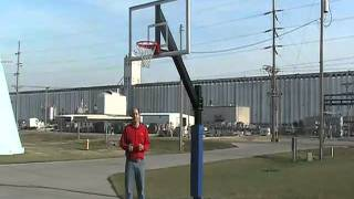 Legend Fixed Height Basketball Goal – YouTube