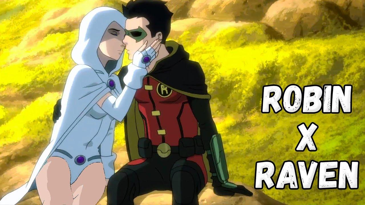 Robin Raven Love Making Justice League Dark Apokolips War 2020 Youtube