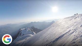Vivez les 100 derniers mètres jusqu'au sommet du Mont Blanc