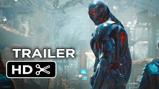 Avengers: Age of Ultron Official Trailer #1 (2015 ) - Marvel Movie HD