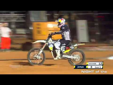 Luc Ackermann - Final Run NIGHT of the JUMPs Wuhan 2018