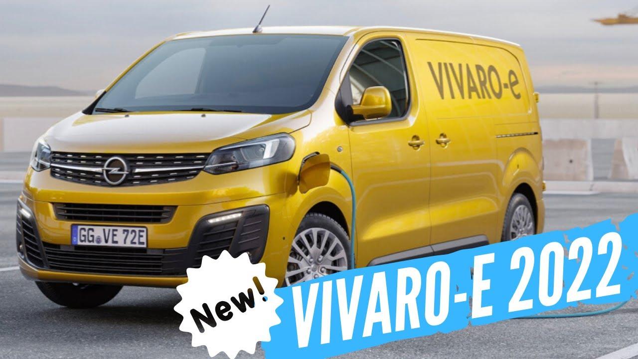 der neue opel vivaro-e 2020/2021 details & infos- elektro