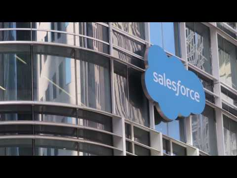 Sales Force Transit Center Opening