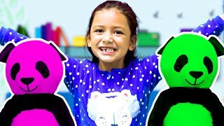 The Finger Family Song Zoey's Version And The Finger Family Color Song!