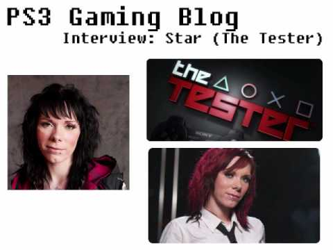 PS3 Gaming Blog: Interview - Star (The Tester) Part 1 - YouTube