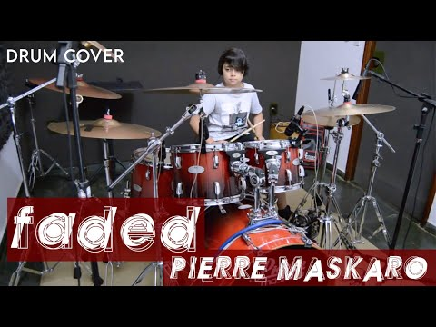 Faded - Alan Walker (Pierre Maskaro - 9 anos) Drum Cover
